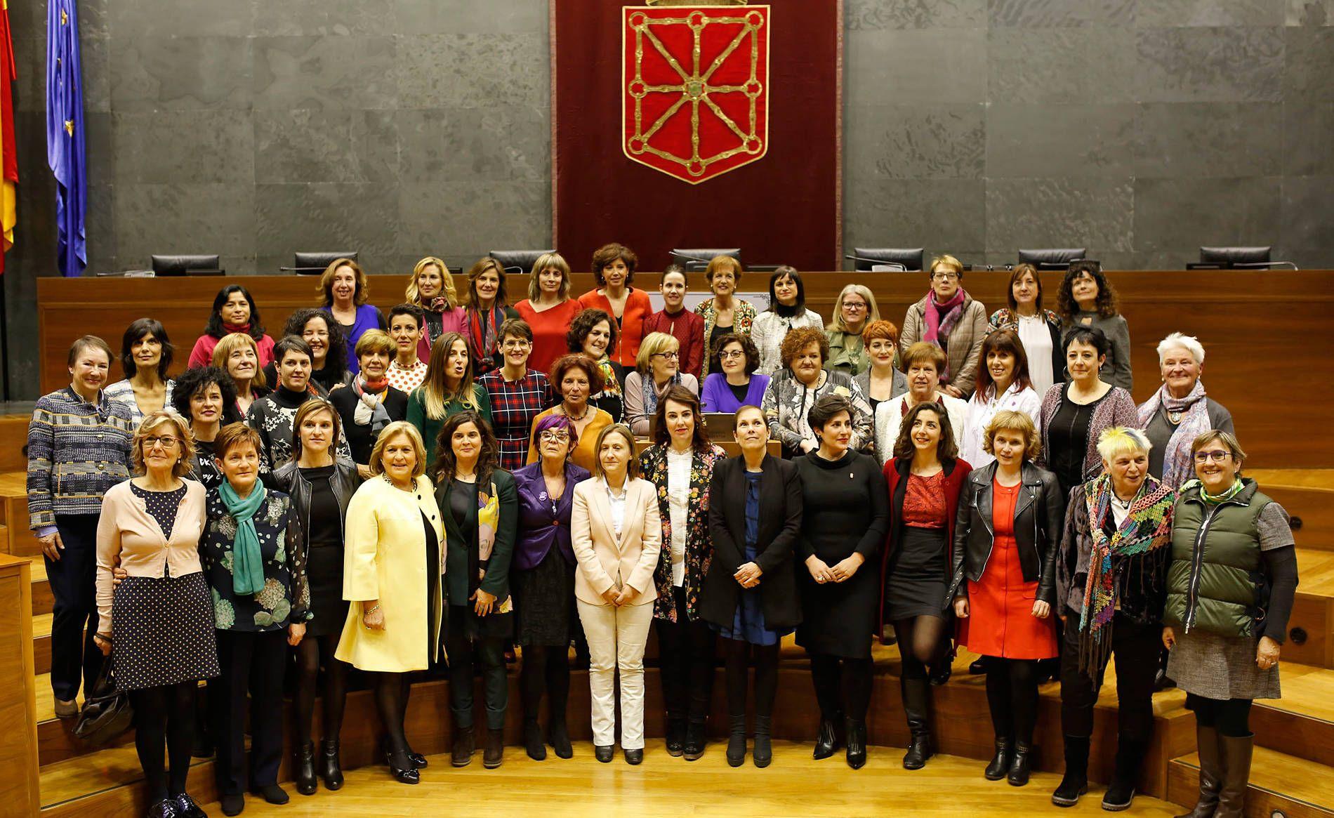 Intervención de Marisa de Simón en el Acto de Reconocimiento a las Parlamentarias Forales