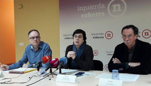 Edurne Eguino anuncia que Izquierda Ezkerra se desmarca del proceso que plantea EH-Bildu sobre el Monumento a los Caídos y apuesta por la demolición