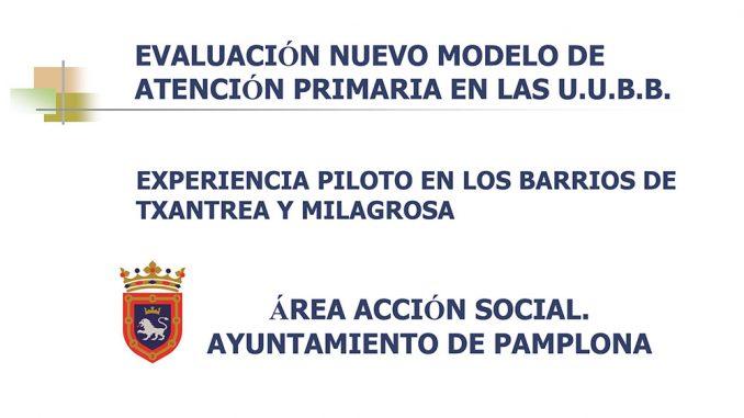 I-E Iruña propone que se ratifique el Acuerdo municipal sobre el Nuevo Modelo de Unidades de Barrio