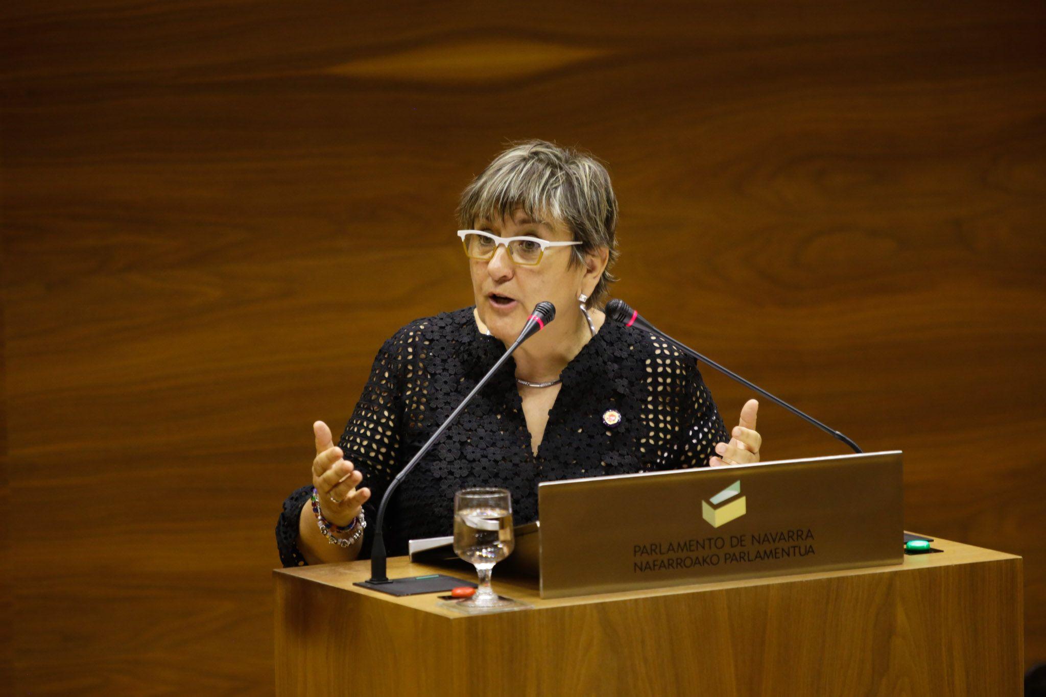 Marisa De Simón valora positivamente la clara tendencia de crecimiento que refleja el Navarrómetro