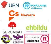 Izquierda-Ezkerra afirma que la plataforma sin siglas con la que UPN, PPN y Ciudadanos pretenden concurrir a las elecciones es la plataforma del miedo
