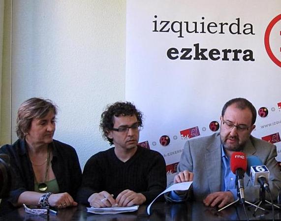 Izquierda-Ezkerra propone ampliar a la zona no vascófona de Navarra el modelo de la zona mixta