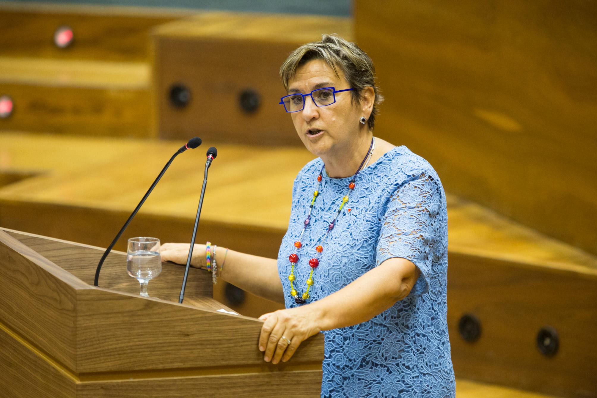 Intervención de Marisa de Simón en el Pleno de investidura de María Chivite como presidenta del Gobierno de Navarra