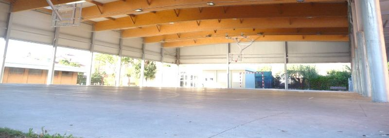 Izquierda-Ezkerra presenta una moción en el Parlamento para que en dos años todos los centros educativos públicos cuenten con una cubierta en el patio