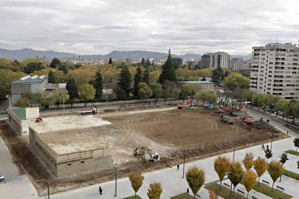 Izquierda Ezkerra solicita que el solar de la cárcel de Pamplona sea declarado Lugar de la Memoria Histórica de Navarra