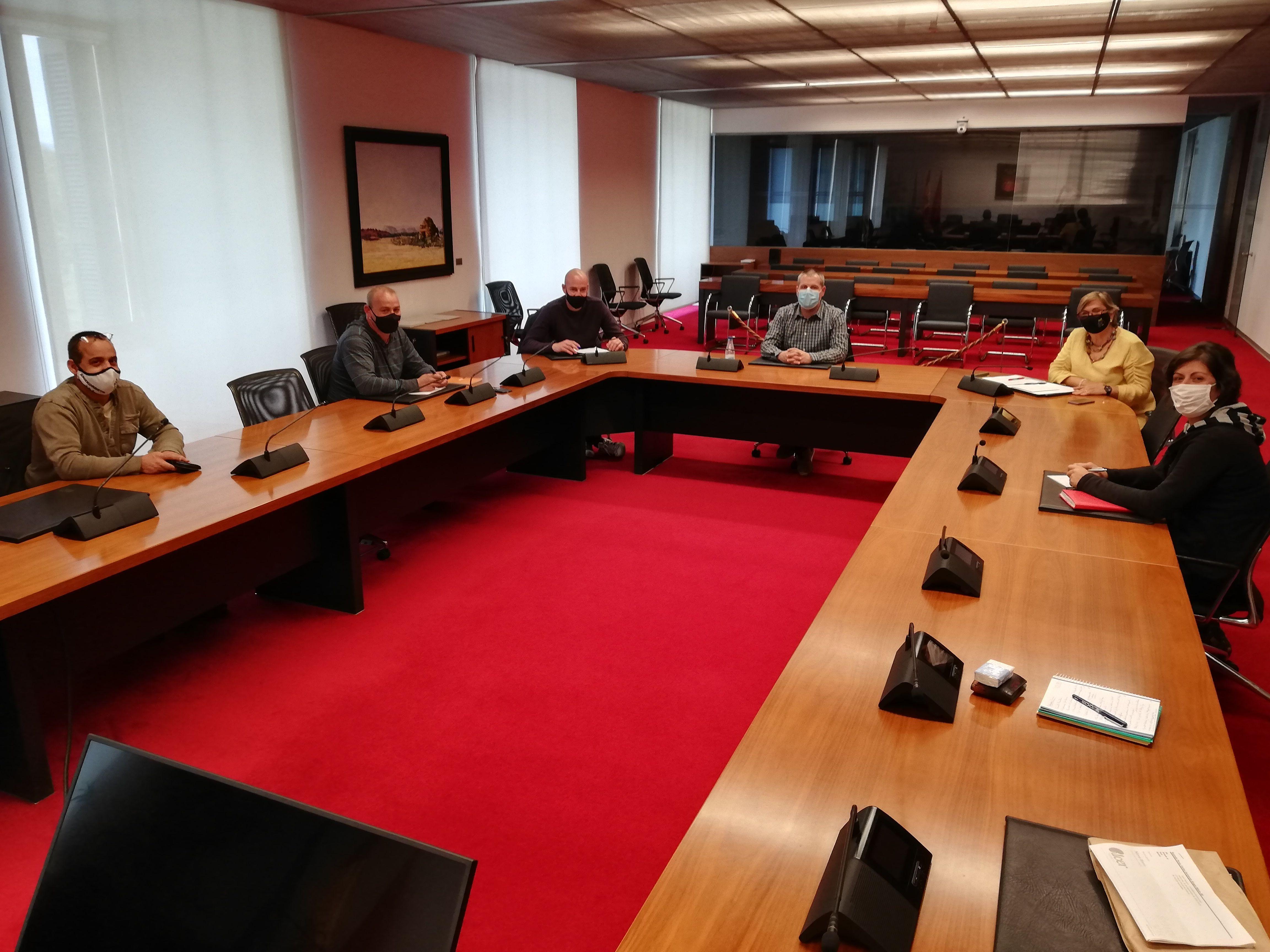 Izquierda-Ezkerra traslada su total apoyo al comité de empresa de TRENASA de Castejón