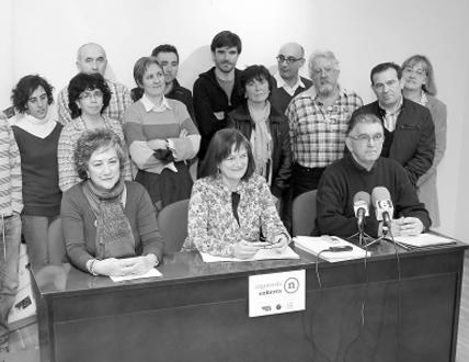 """Izquierda-Ezkerra apuesta en la Ribera por """"hacer política con la ciudadanía"""""""