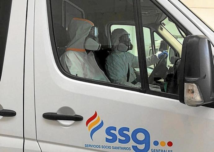 Por la reposición de la ambulancia COVID en Tudela