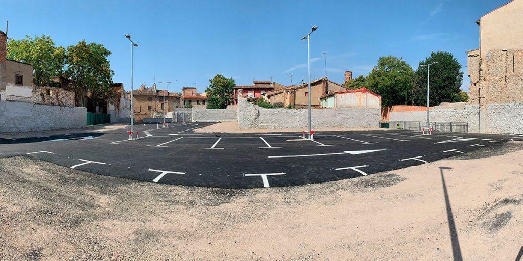 El Gobierno de la Izquierda adecuó buena parte de los solares municipales en Tudela, abandonados por las administraciones de UPN