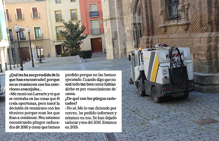 El 75% de las contratas de Tudela, caducadas en 2015, fueron renovadas por el Gobierno liderado por Izquierda-Ezkerra Tudela