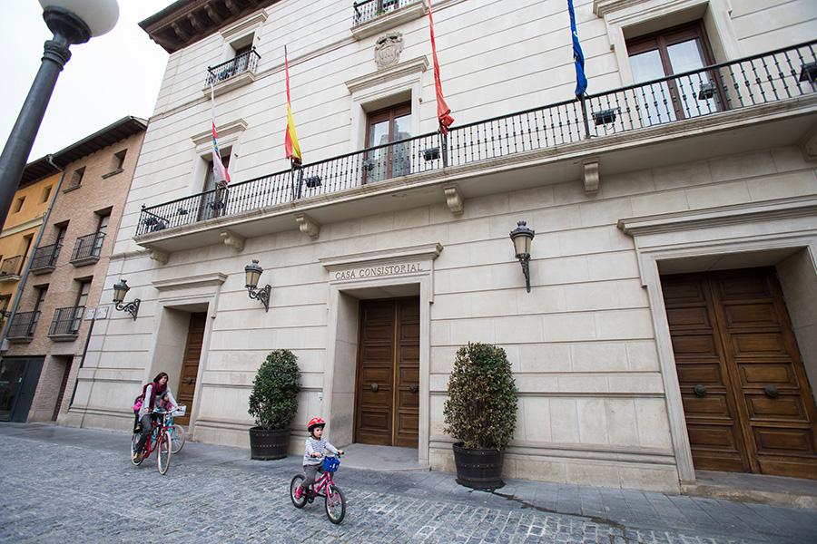 I-E pide al alcalde de Tudela que cumpla su primera promesa tras las elecciones del 26-M: una auditoría para evaluar el ayuntamiento