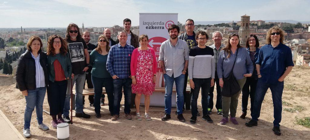 Izquierda-Ezkerra reivindica en Tudela el cierre de la brecha entre la Cuenca y la Ribera