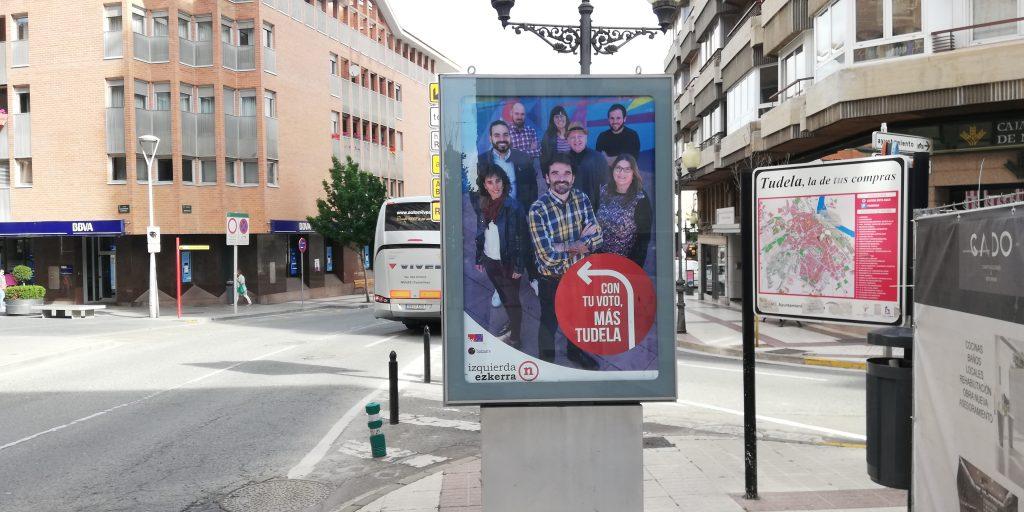 """I-E Tudela valora positivamente su arranque de campaña y denuncia """"la estrategia de la difamación y la mentira"""" de las derechas"""