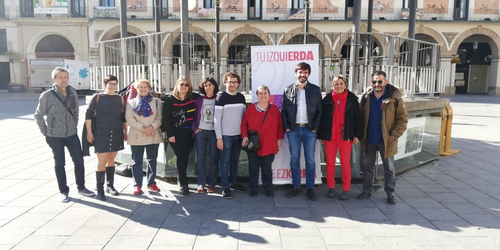 Izquierda-Ezkerra apuesta por seguir cerrando la brecha territorial entre la Ribera y la Cuenca de Pamplona