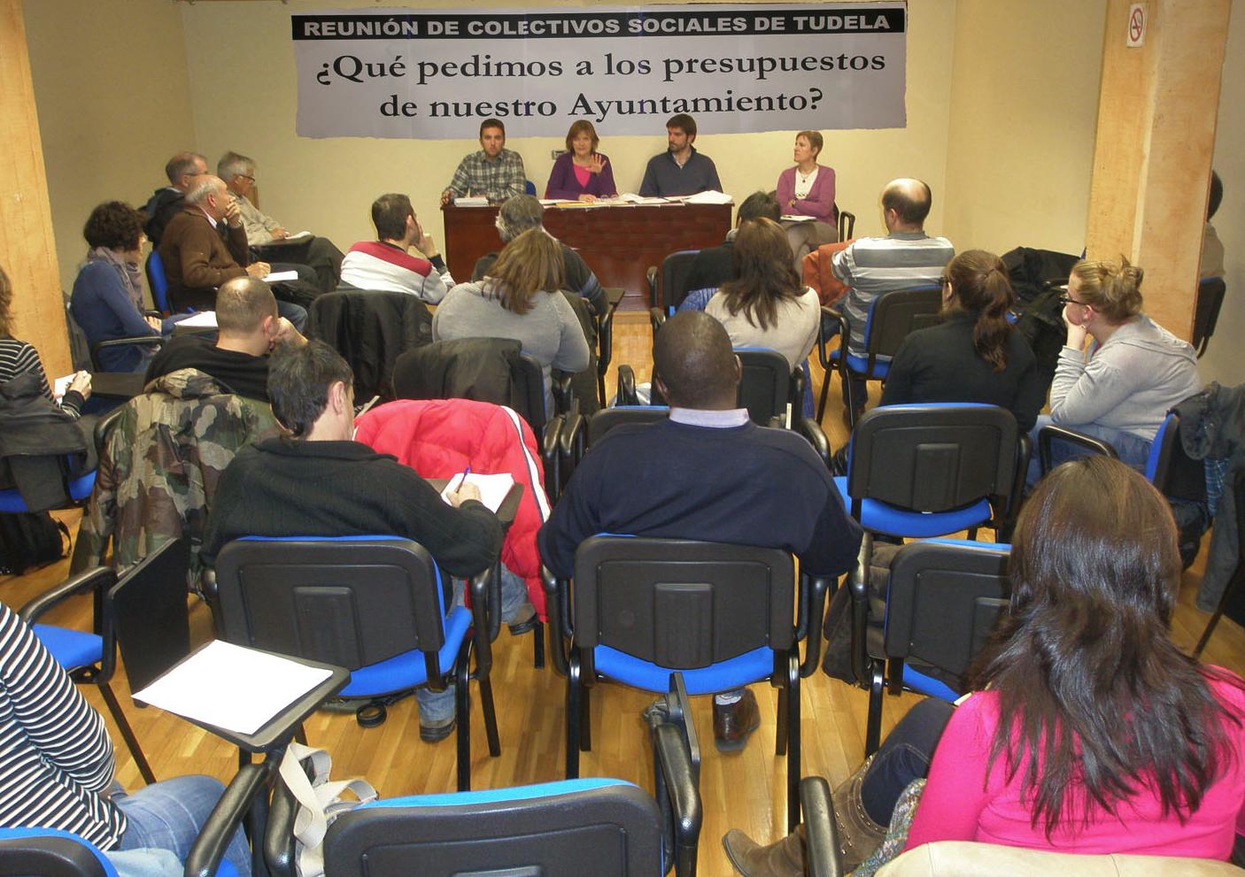 Izquierda-Ezkerra de Tudela denuncia como antidemocratica la tramitación presupuestaria