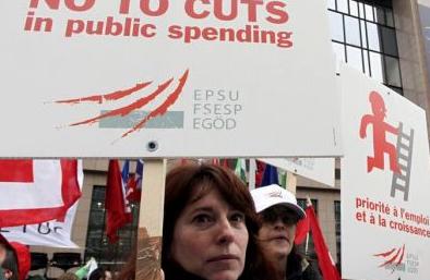 I-E apoya las movilizaciones por el empleo y la justicia social convocadas el 29F por los sindicatos en toda la UE