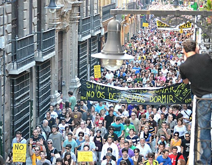 I-E llama a la ciudadanía a participar en las movilizaciones del 15M