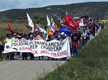 Desde Izquierda-Ezkerra pedimos el desmantelamiento del Polígono de Tiro de las Bardenas