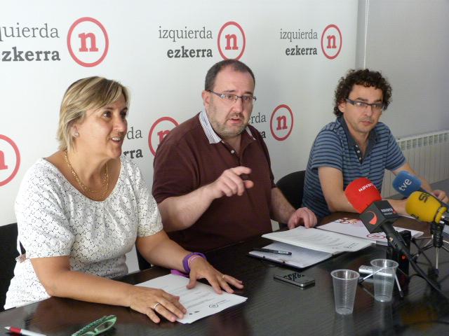 "I-E emplaza a PSN, NaBai y Bildu a ""pactar"" una reforma fiscal ""profunda"""