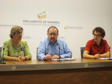 Izquierda-Ezkerra propone una reforma fiscal cuya recaudación evite nuevos recortes presupuestarios en 2013