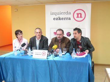 Izquierda-Ezkerra propone que el Amejoramiento considere el euskera oficial en toda Navarra