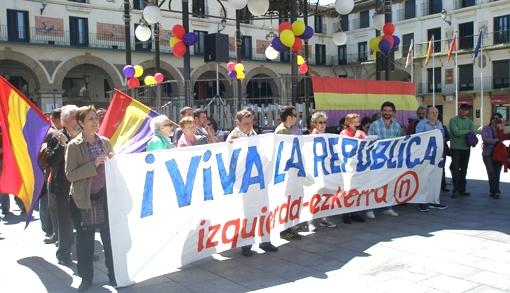 14 de abril en Tudela. Nos sobran las razones