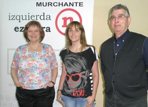 Izquierda-Ezkerra presenta su candidatura en Murchante