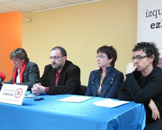 Izquierda-Ezkerra aboga por priorizar la enseñanza pública y concertar solo lo imprescindible
