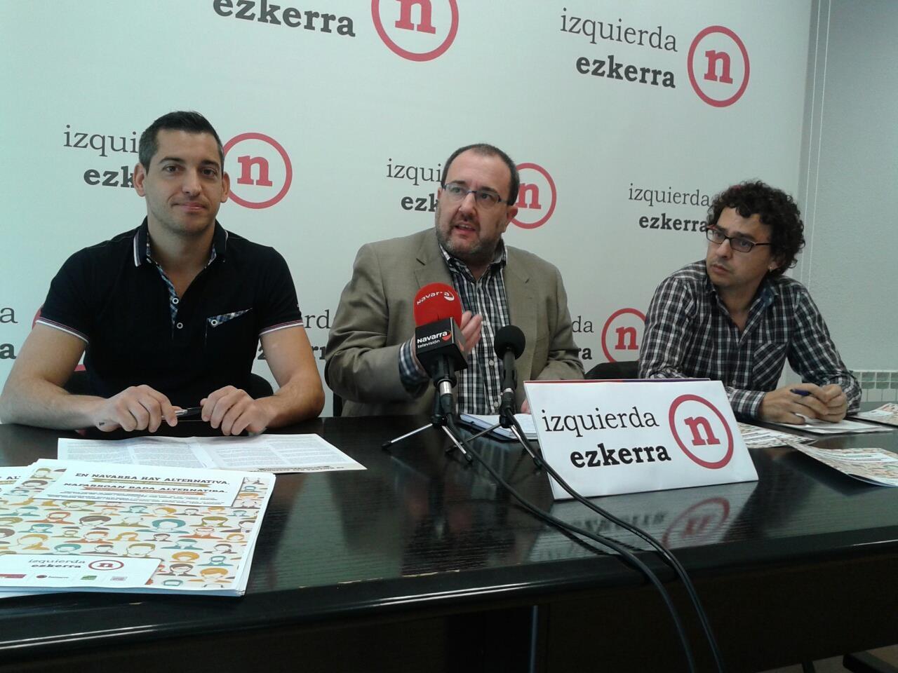 """Es necesario impulsar """"una alternativa de izquierdas e interidentitaria"""" en Navarra"""