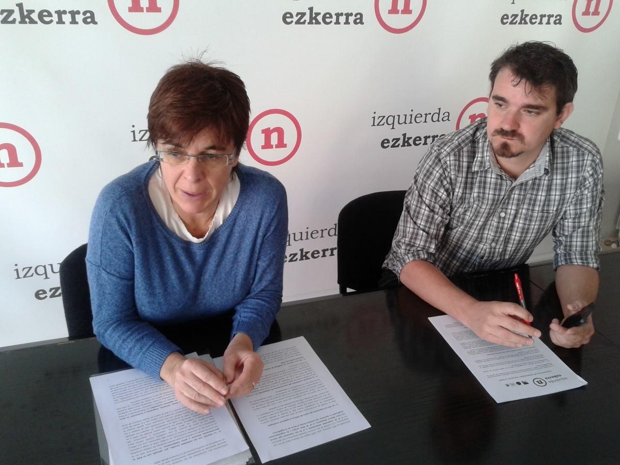 El grupo municipal de Izquierda-Ezkerra, del ayuntamiento de Pamplona-Iruña, hace una valoración de este último año de legislatura