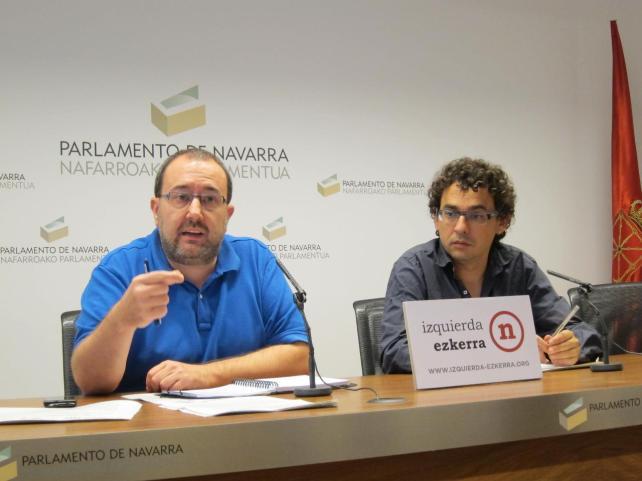 I-E propone un nuevo impuesto en Navarra sobre los depósitos de las entidades financieras