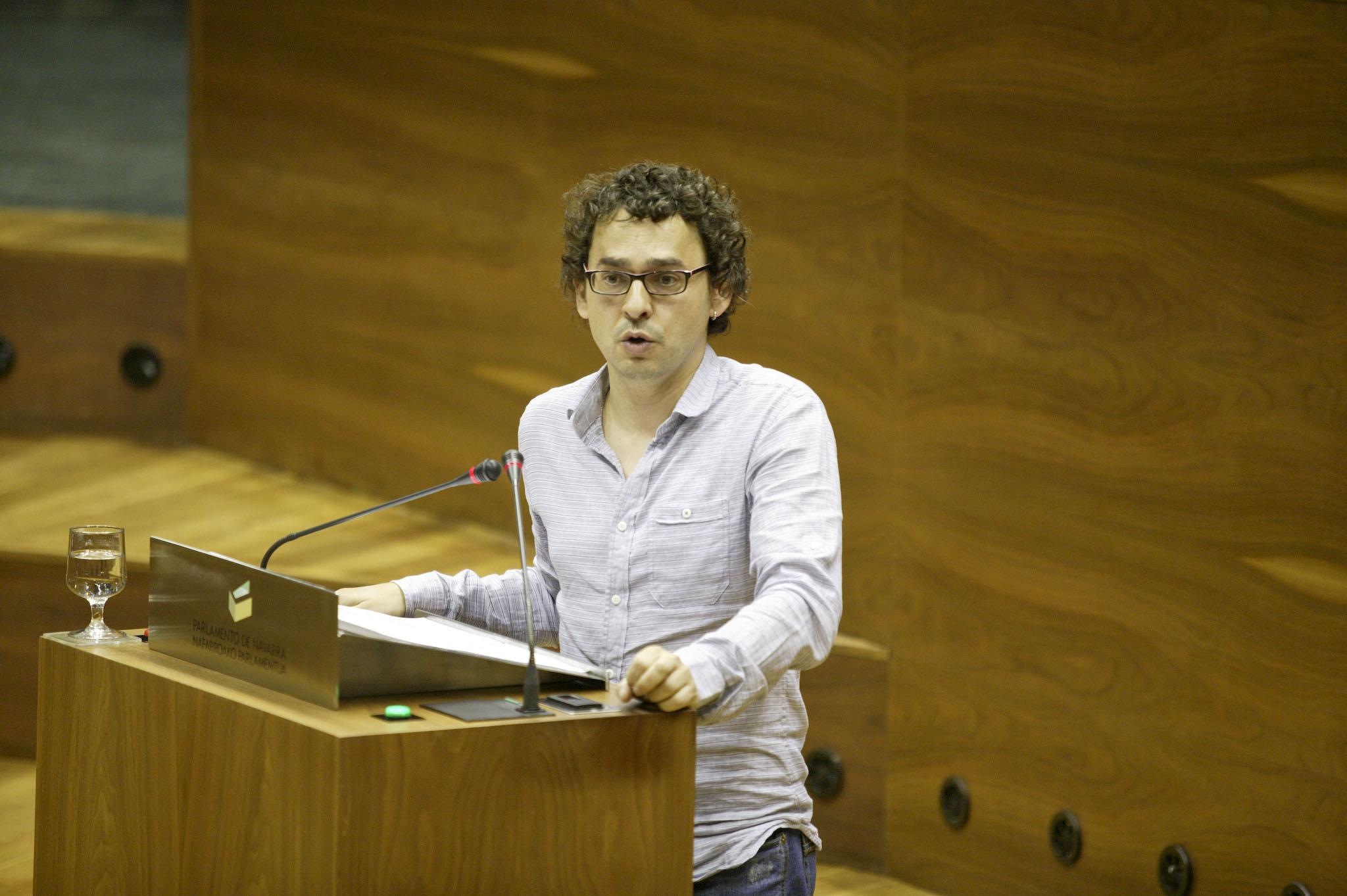 Intervención de Txema Mauleón en la defensa de la Ley de Memoria Histórica de Navarra