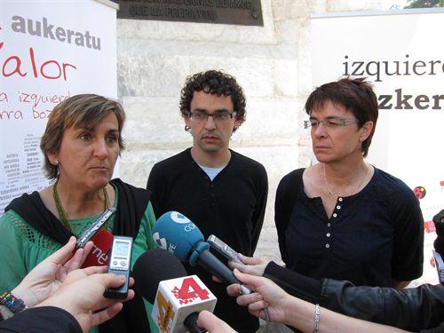Izquierda-Ezkerra apuesta por un pacto de convivencia de identidades