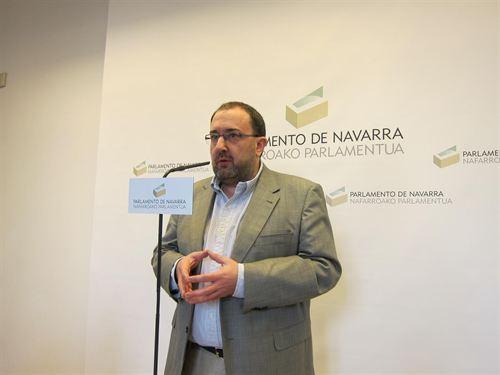 EL RÉGIMEN DE UPN AGONIZA Nuin: 'En Navarra no hay caso Bildu sino el de un Gobierno atrincherado'