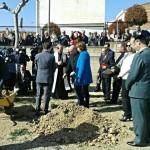 Declaración Institucional tras el acto oficial de colocación de la primera piedra del futuro cuartel de la Guardia Civil