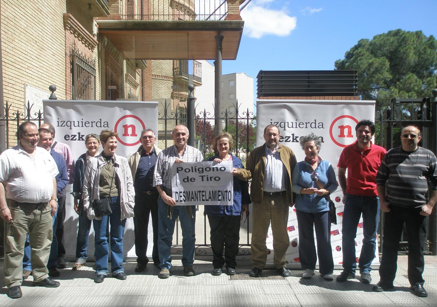 Izquierda-Ezkerra exige el desmantelamiento del Poligono de Tiro de las Bardenas