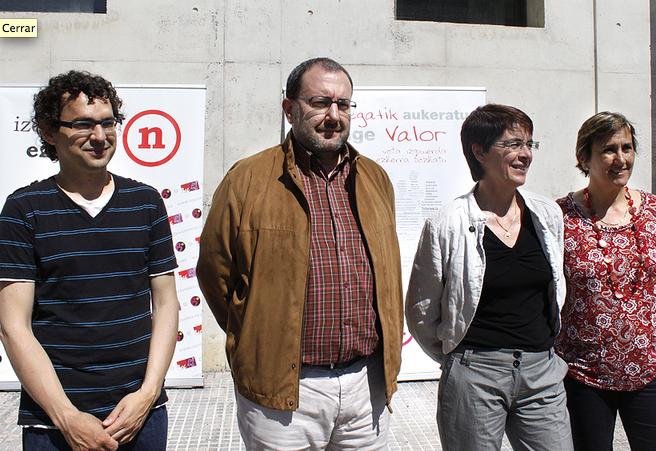 Izquierda-Ezkerra llama al voto joven para fortalecer la izquierda