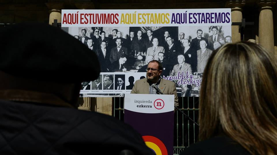 Intervención de Jose Miguel Nuin en el acto republicano