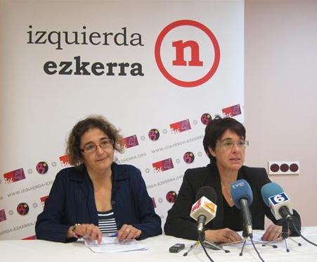 Edurne Eguino (Izquierda-Ezkerra) dice que el PSN es el mejor amante de UPN