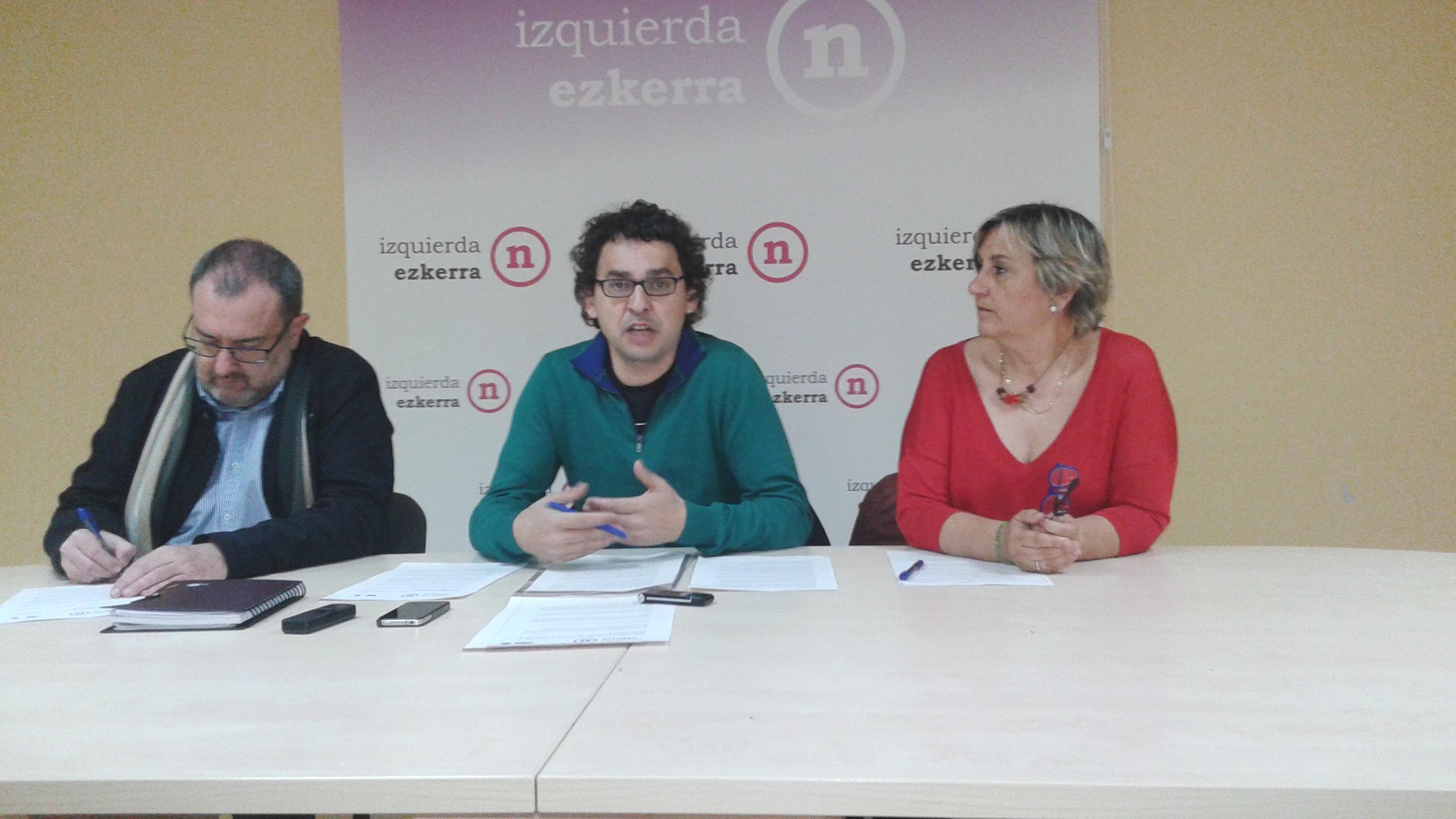 Izquierda-Ezkerra presenta sus líneas básicas en materia de vivienda