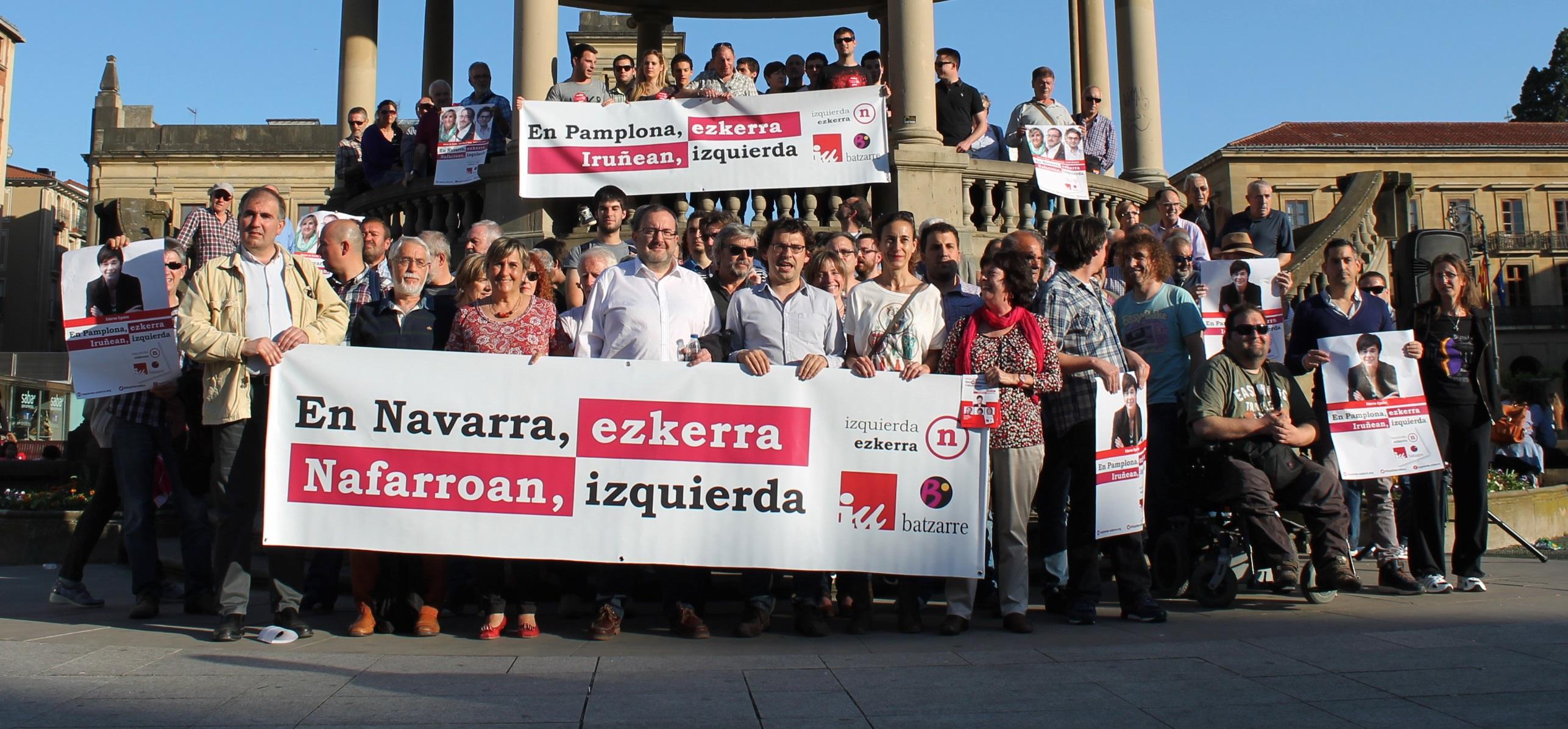 Acto de arranque de campaña de Izquierda-Ezkerra