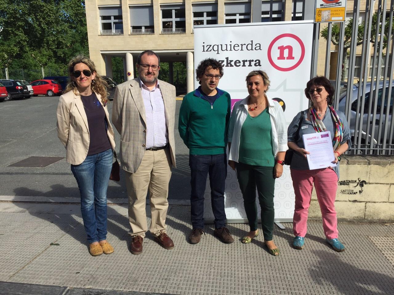 Izquierda-Ezkerra presenta su 10 Primeras medidas de para priorizar y mejorar la Enseñanza Pública en Navarra en un gobierno de izquierdas.
