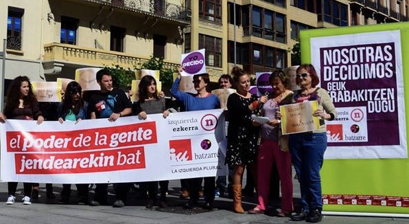 IZQUIERDA-EZKERRA EXIGE HACER MÁS Y MEJORES COSAS PARA ERRADICAR LA VIOLENCIA MACHISTA