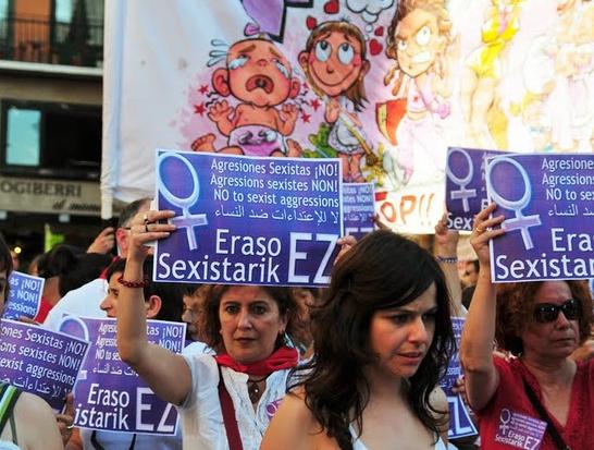 No a las agresiones sexuales; tampoco en sanfermines