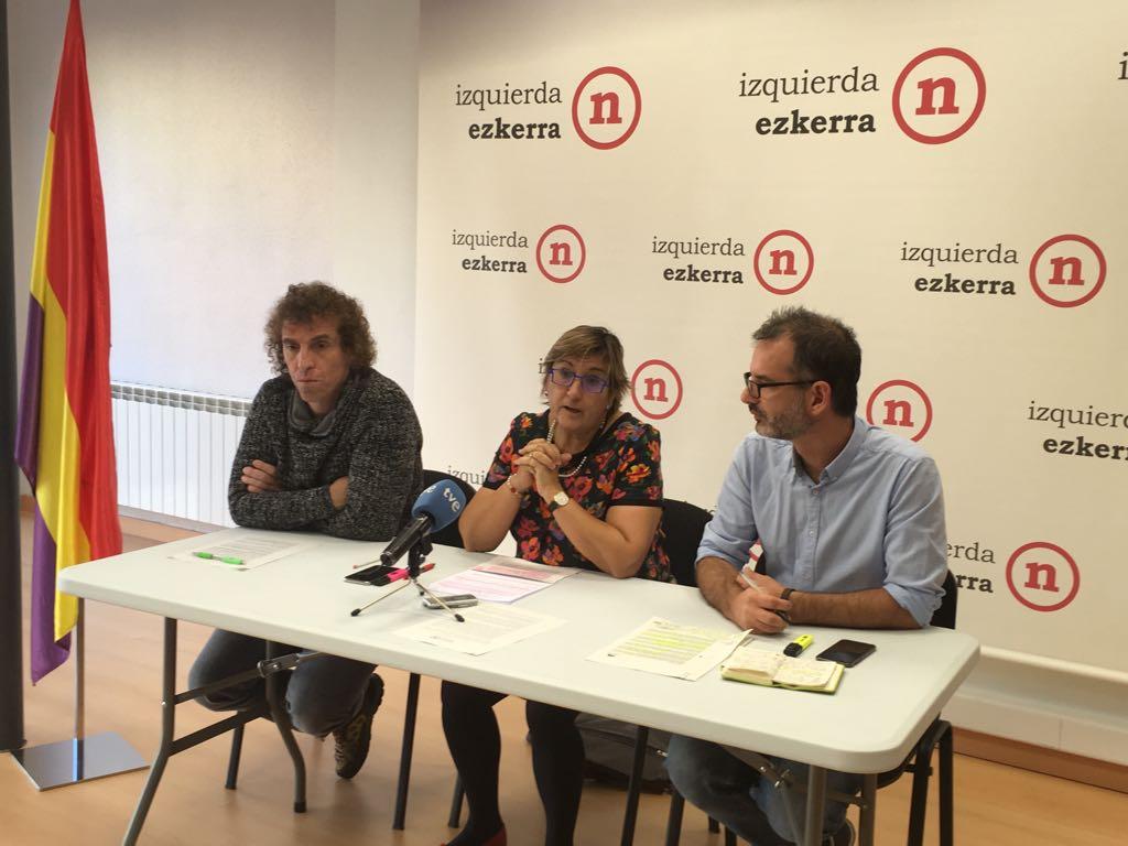 Izquierda-Ezkerra votará en contra de la aplicación del artículo 155 en el pleno del Senado
